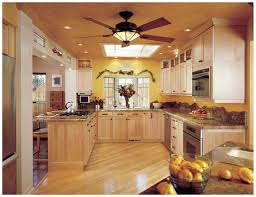 kitchen ceiling fans with bright lights interesting for lighting 5