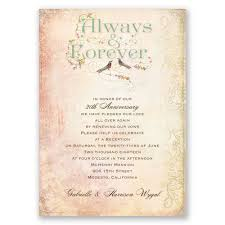 Always And Forever Vow Renewal Invitation