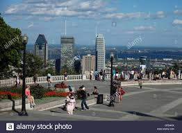 100 Belvedere Canada Mount Royal Montreal Quebec Stock Photo