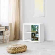 creatisto wandtattoo möbel passend für ikea kallax regal 1