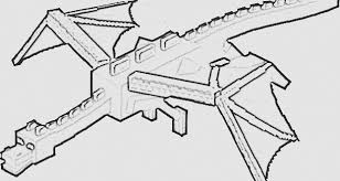 Minecraft Ender Dragon Coloring Pages