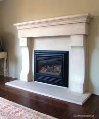 fireplace mantel limestone How to Remove Old Fireplace Mantels