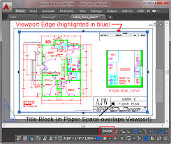 Viewport Sample In AutoCAD