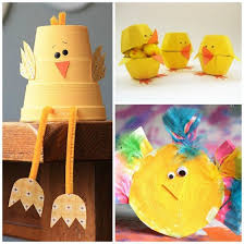 Easter Chick Crafts For Kids
