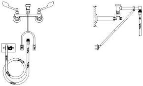 Commercial Pre Rinse Chrome Kitchen Faucet by Kraus Commercial Pre Rinse Chrome Kitchen Faucet 100 Images