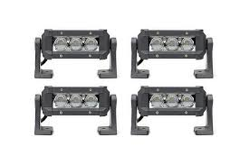 4 pack carbine 5 road led lightbar w c5hp4 stl