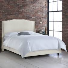 Skyline Tufted Headboard King by Nail Button Wingback Linen Upholstered Bed Hayneedle