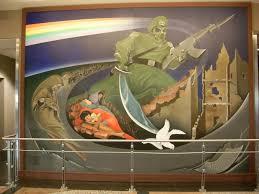 Denver Airport Conspiracy Murals Location by Denver International Airport Gateway To Hell U2013 Business Handshakes