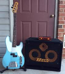 2x10 Bass Cabinet 8 Ohm by Markbass Standard 102hf Front Ported Neo 2x10 Bass Speaker Cabinet