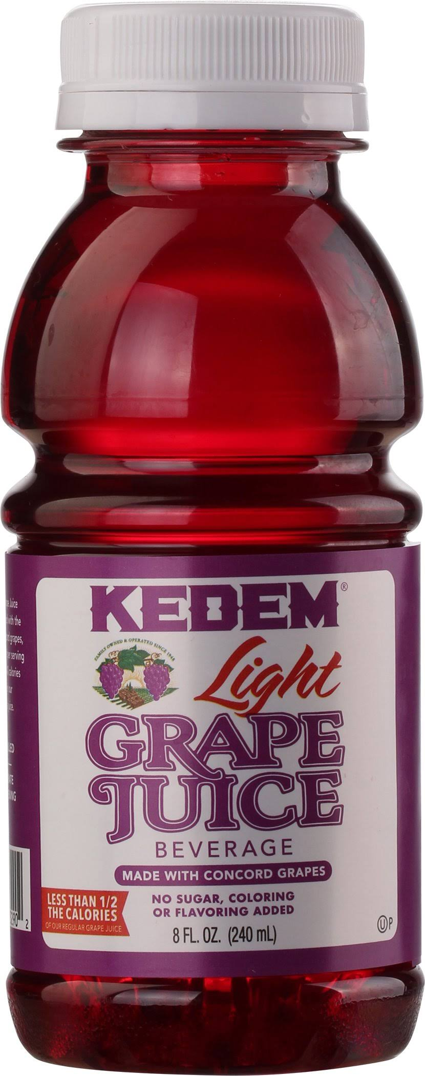 Kedem Light Concord Grape Juice 8oz