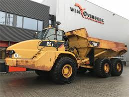 Caterpillar 740 ADT 6x6 Tailgate - Articulated Dump Trucks (ADTs ...