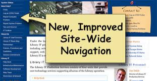 Cites Help Desk Contact by The Redesigned Library It Web Site Library It News University