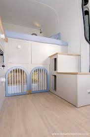 100 House Van Clever Van Conversion Is Petfriendly Home To Two Dogs