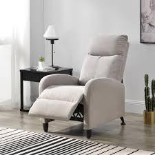 polstersessel bregenz relaxsessel relaxliege 102x60x92 cm liegesessel fernsehsessel sessel mit verstellbarer rückenlehne tv sessel aus textil braun