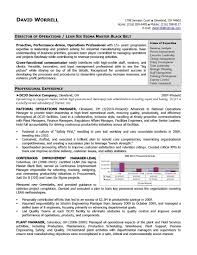 Sample Resume For Store Operations Manager Save Retail Fresh