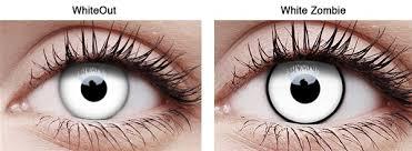 Prescription Contact Lenses Halloween Uk by Prescription Zombie White Contacts For Halloween Blog Lentiamo Co Uk