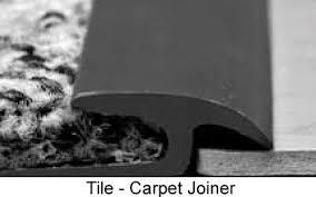floor transition tile to carpet transition