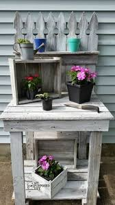 free potting bench plans with sink easy diy idea projects and