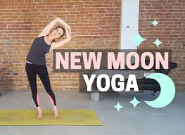 New Moon Yoga Flow Set Your Intention Tune In 40 Min