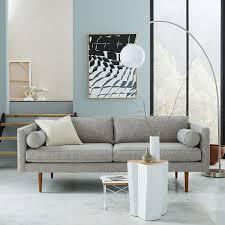 monroe mid century sofa 80 quot mid century sofa mid century