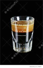 Picture Of Single Espresso Shot