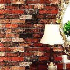 großhandel moderne gestapelte ziegelstein 3d stein tapete rollen graue ziegel tapete wand hintergrundbild für wohnzimmer pvc vinyl wall papier