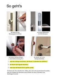 innovativer aussperrschutz zum aufkleben individuelle einbruchssicherung für alle haus und wohnungstüren aussperrsicherung einfache montage