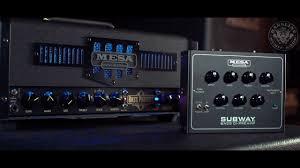 2x10 Bass Cabinet Shootout by Bassline Mesa Subway Bass Di Preamp Youtube