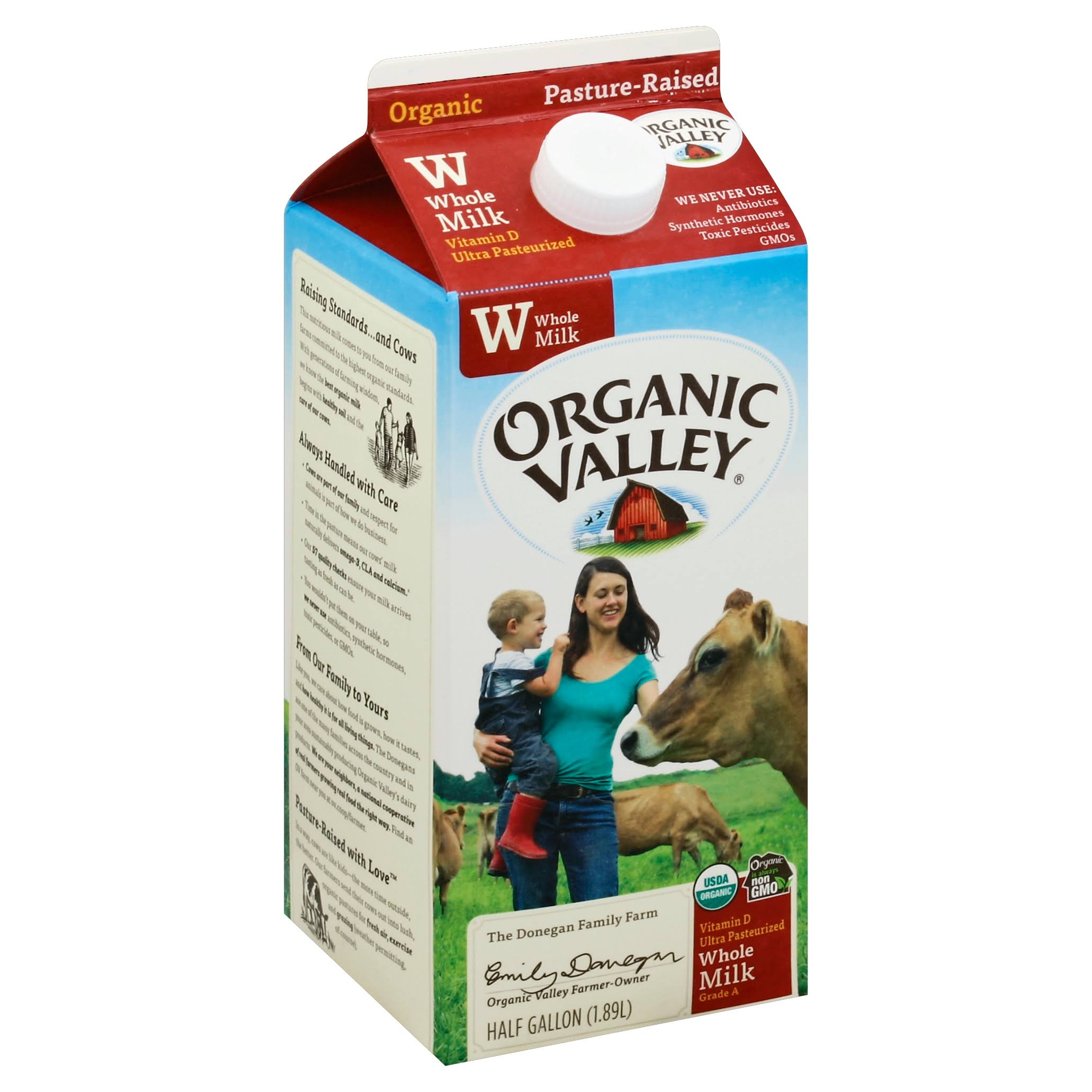 Organic Valley Organic Whole Milk