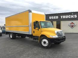 2014 International 4300 Single Axle Box Truck, MAXXDFT, 215HP ...