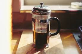 Coffee Yum Morning Black French Press Home Brew