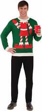 men u0027s elf yourself ugly christmas sweater festive holiday