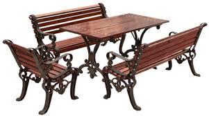 New Hephaestus Cast Iron Garden Furniture Set