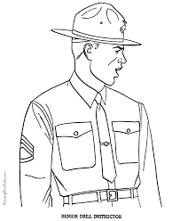 Military Coloring Pictures