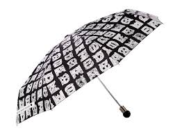 Shed Rain Umbrella Nordstrom by Marc By Marc Jacobs U0027stacked Logo U0027 Umbrella In Black Lyst