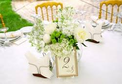 Frugal Wedding Reception Beauteous Centerpieces