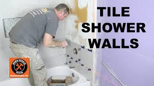 how to tile a shower wall the mixing valve wall by home