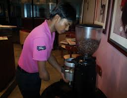 Currently He Is Working As A Brew Master In Cafe Coffee Day Richmond Road Bangalore Which One Of The High Volume Cafes