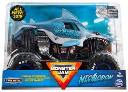 100 Destructo Truck Game Amazoncom Monster JAM 124 Scale Megalodon New 2019 Original