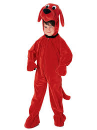 Clifford Halloween Book by Clifford The Big Red Dog Child Costume Clifford Boys Costumes