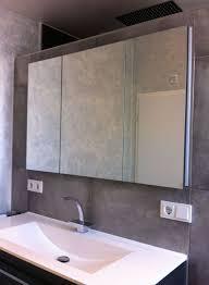 einbau badschrank mit doppelspiegeln einbau spiegelschrank
