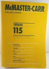 McMaster Carr Catalogue Issue 115