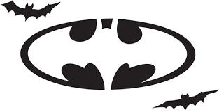 Minecraft Pumpkin Stencils Free Printable by Batman Insignia Template Free Download Clip Art Free Clip Art