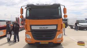 DAF CF 440 MX-11 Sleeper Cab Tractor Truck Exterior And Interior ...