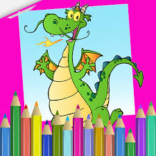Pet Dragon Coloring Book Apps Apk Free Download For Android PC Windows