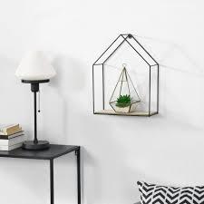 en casa wandregal hängeregal hasselt deko regal mit ablagefach hausförmig kaufen otto