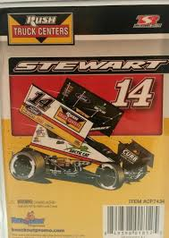 100 Rush Truck Center Atlanta 1 2017 14 TONY STEWART RUSH TRUCK CENTERS Sprintcar 164 SCALE