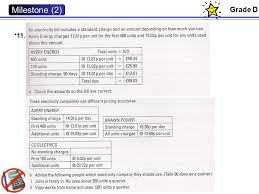 Energy Tariffs No Standing Charge by Content Milestone 2 Unit 2 Higher Edexcel Gcse Ppt Download