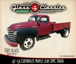 100 1947 Gmc Truck 1954 GMC Pickup Side Windows Australian Body
