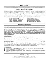 Leasing Manager Resume Agent If You Are Interested In Making Can Read Our Article